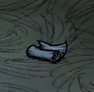 Dropped Cave Map Scroll