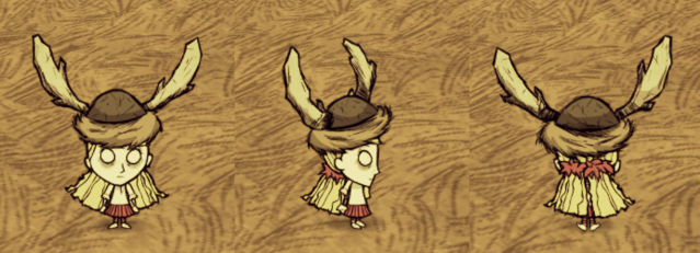 File:Beefalo Hat Wendy.png
