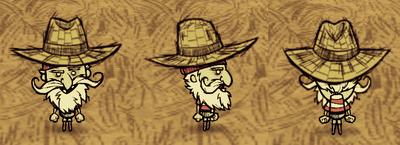 Straw Hat Woodlegs