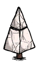 Marble Shrub Medium Pyramid
