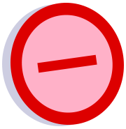 File:Symbol strong oppose vote.png