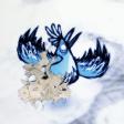 A Snowbird on fire