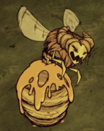 Bee Queen Sleeping
