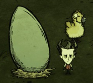Moose Egg Scale
