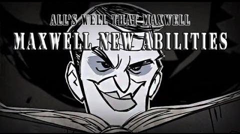 dont starve together how to play maxwell well