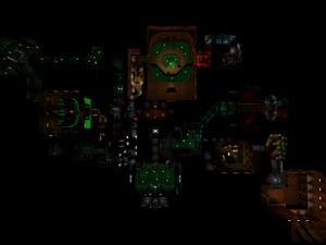 Classic Doom E1M3 Overhead