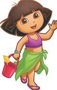 Dora beach outfit
