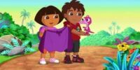 Dora & Diego in the Time of Dinosaurs