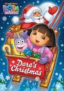 Dora the Explorer Dora's Christmas DVD 2