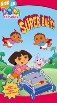 Dora-explorer-super-babies-vhs-cover-art