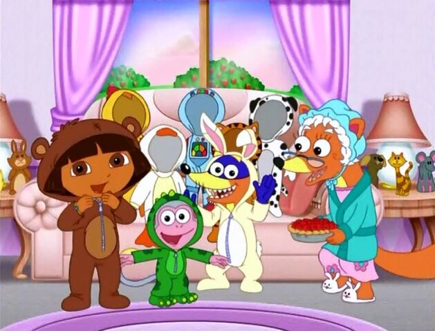 File:Dora boots swiper having a sleepover by fucciflakes-d5fwpk2.jpg
