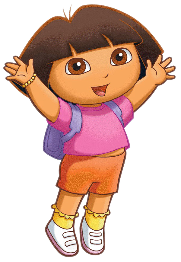 my most popular animation character dora composition examples