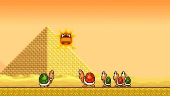 Angry Sun Hates Mario