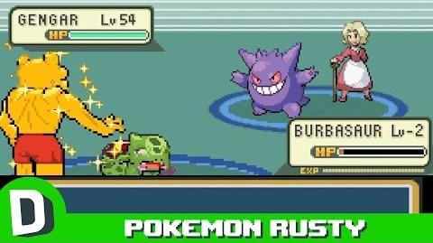 Pokemon Rusty- The Elite Four