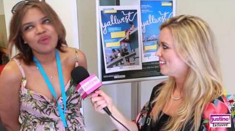 Justine Magazine Danielle Paige On Her New Books, Writing Tips & More!