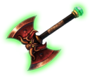 Off dragon cleaver green