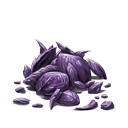 Pile of scales purple