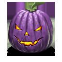 Jack o lantern purple