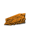 Demonic shard orange
