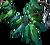 Neck emerald chain