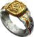Ring gilded colossus