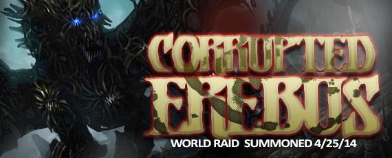 Scroller world raid corrupted erebus