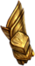 Gloves golden wyrm
