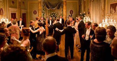 dining room/ball room (grantham house) | downton abbey wiki