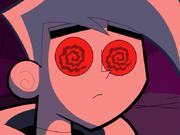 S01e20 Danny red swirling eyes