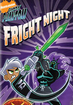 Danny Phantom- Fright Night DVD Cover