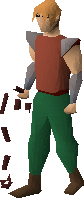 Abyssal whip equipped