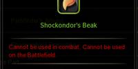 Shockondor's Beak