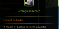 Ecological Record