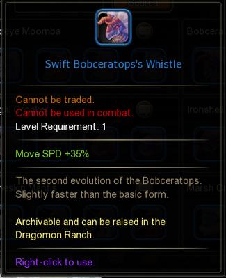 Swift Bobceratops Whistle