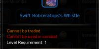 Swift Bobceratops' Whistle