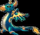 Dragon CORBEAU DORE