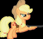 Applejack with her guns