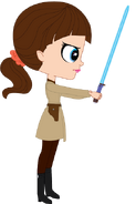 Blythe (wielding Lightsaber)