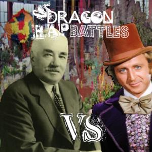 Willy Wonka VS Milton Hershey Cover
