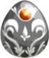 Sterling Silver Egg