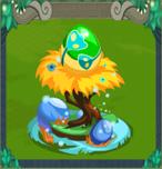 EggBluePeacock
