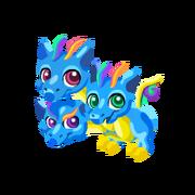 Triple Rainbow Baby