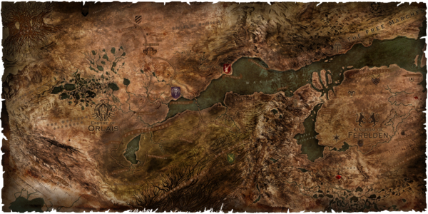 Dragon Age- Inquisition map