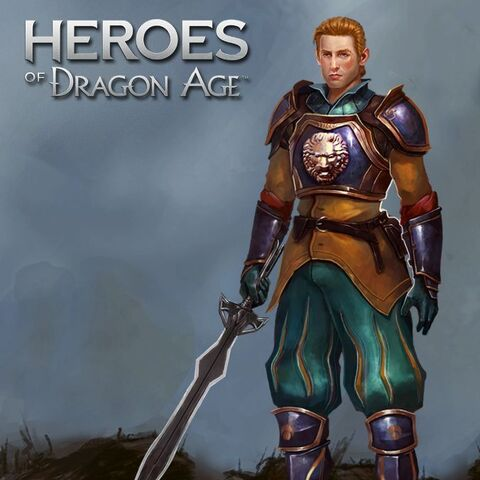 Michel in <i>Heroes of Dragon Age</i>