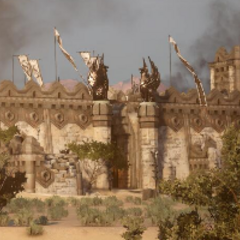 Another view of the Adamant fortress.