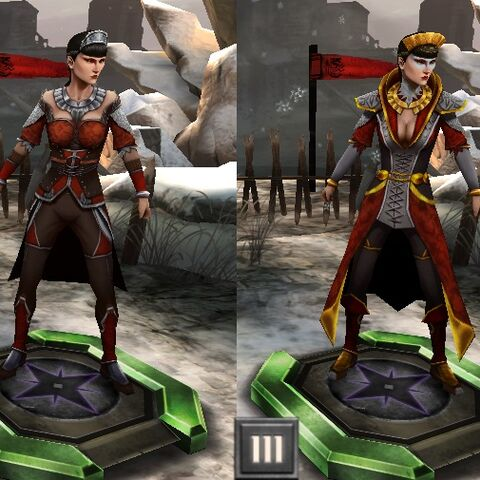 Tier progression of the Baroness in <a href=