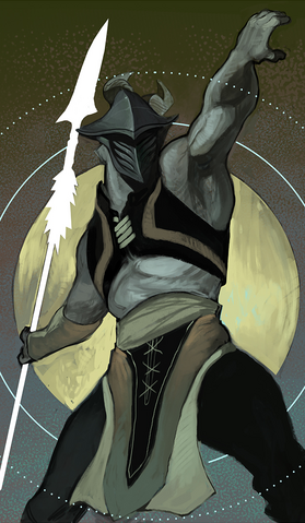 File:Qunari 'Spearman' Tarot Design.png