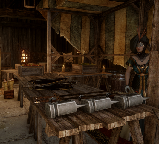 File:Redcliffe Village Weapons and Upgrades Merchant.png