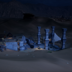 The Four Pillars Tomb