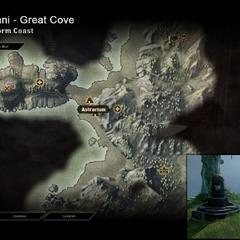 Servani - Map Location